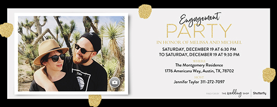 Engagement Party Invitation