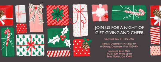 Endless Presents Invitation