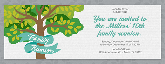 Reunion Invitations Class Family Reunion Invitations Evitecom