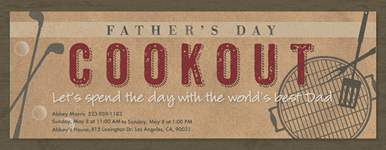 Free Father's Day Online Invitations | Evite