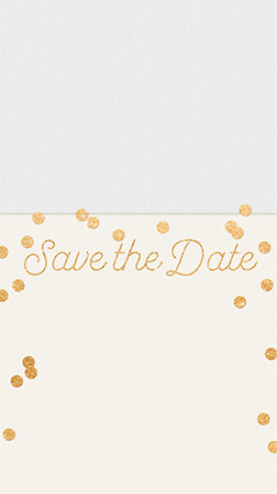 Free Save the Date Invitations and Cards | Evite