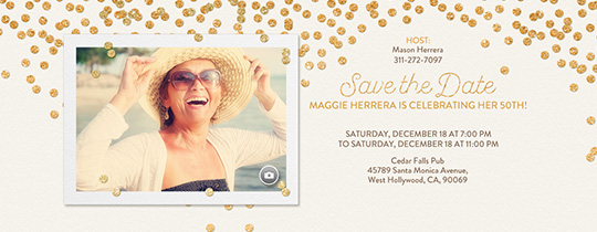 birthday party save the date invitations evite com