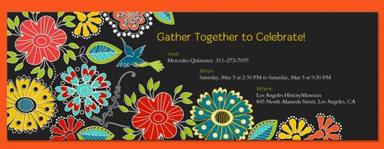 folklorico invitation