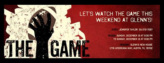 The big game super party invitations football game invitation stopboris Images