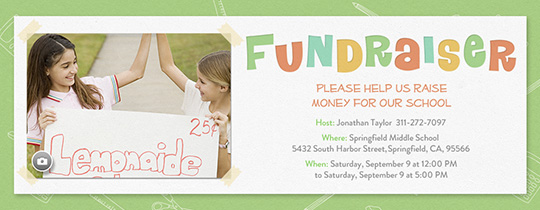 Fundraising Invitation
