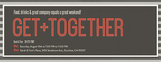 Get Together Invitation