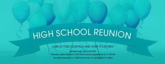 Free Class & Family Reunion Invitations | Evite