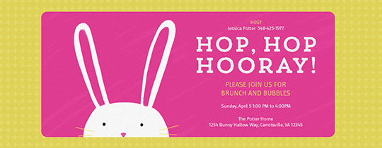 Easter free online invitations – Easter Invitation Cards
