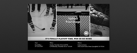 Invitations Free eCards and Party Planning Ideas from Evite – Hockey Party Invitations