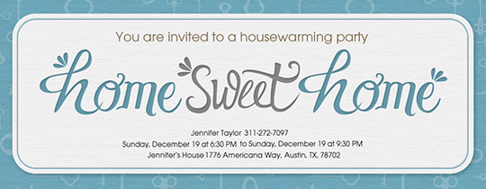 Free Housewarming Party Invitations Evite