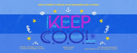 Keep Cool Invitation