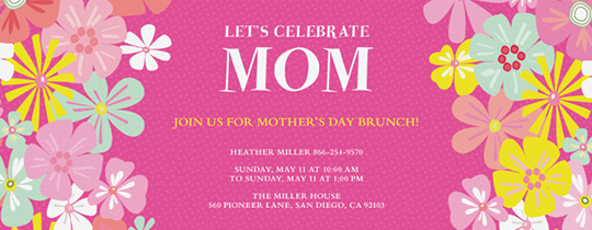 Mom's Delight Invitation