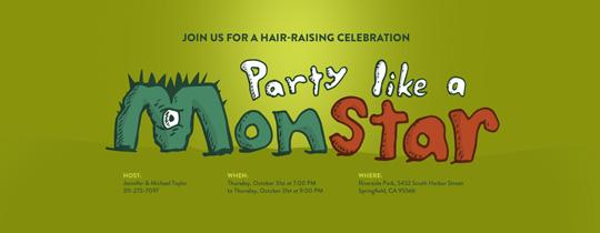 Monstar Invitation