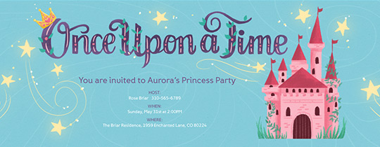 Free Babys First Birthday Invitation Evite