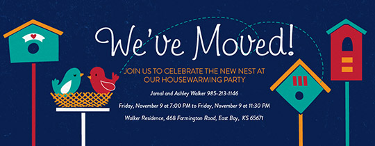 Free housewarming party invitations evite our nest invitation stopboris Choice Image