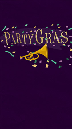 picture relating to Free Printable Mardi Gras Invitations known as Free of charge Mardi Gras Invites Evite
