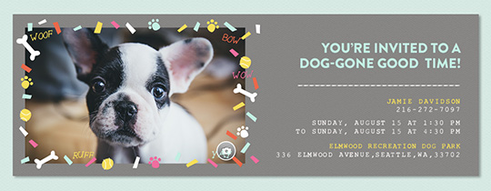 Free Pet Party Amp Animal Themed Online Invitations Evite