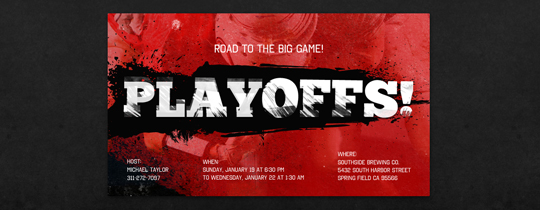 Playoffs Invitation