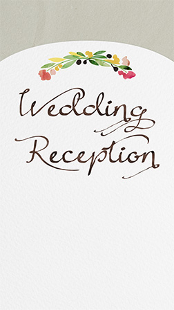 Free Welcome and Wedding Reception Invitations | Evite