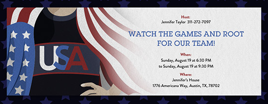 USA Pride Invitation