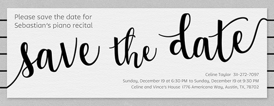 Free wedding save the dates online | punchbowl.
