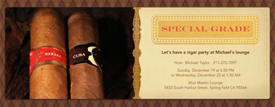 Special Grade Invitation