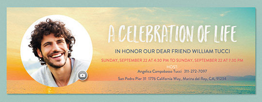 Sunrise Celebration Invitation