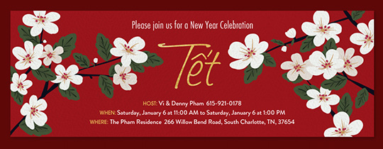 chinese new year invite tet invitation