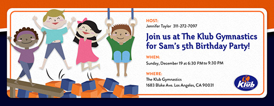 The Klub Gymnastics Invitation