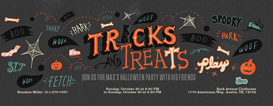 TricksAndTreatsPlay Invitation