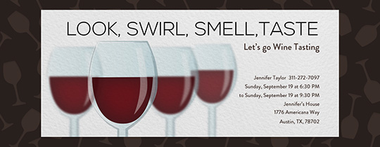 free wine tasting invitations evite